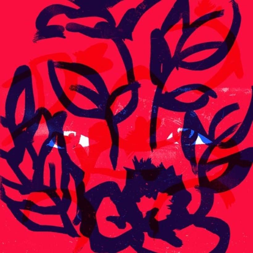 The floating bed - Frida Film - Mi project in Ilustración original de tu puño y tableta course - 0