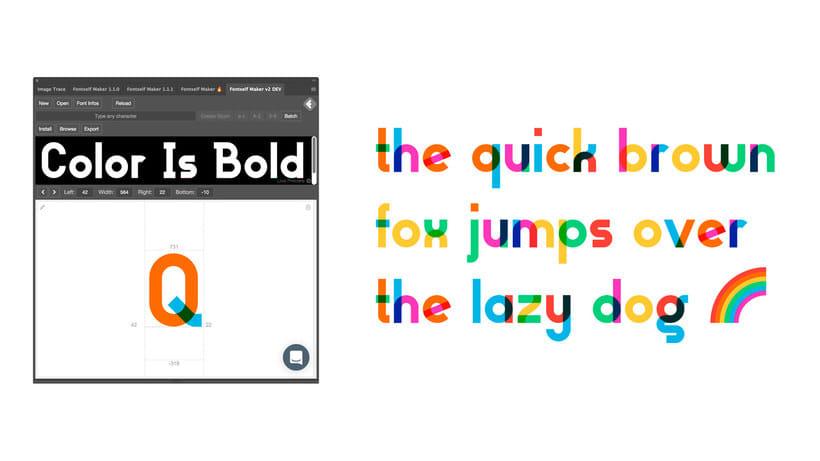 Descubre la tipografía inspirada en la bandera arcoíris de Gilbert Baker 14