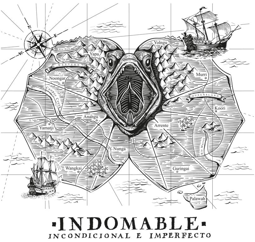 Ilustración para INDOMABLE (MÚSICA) 0