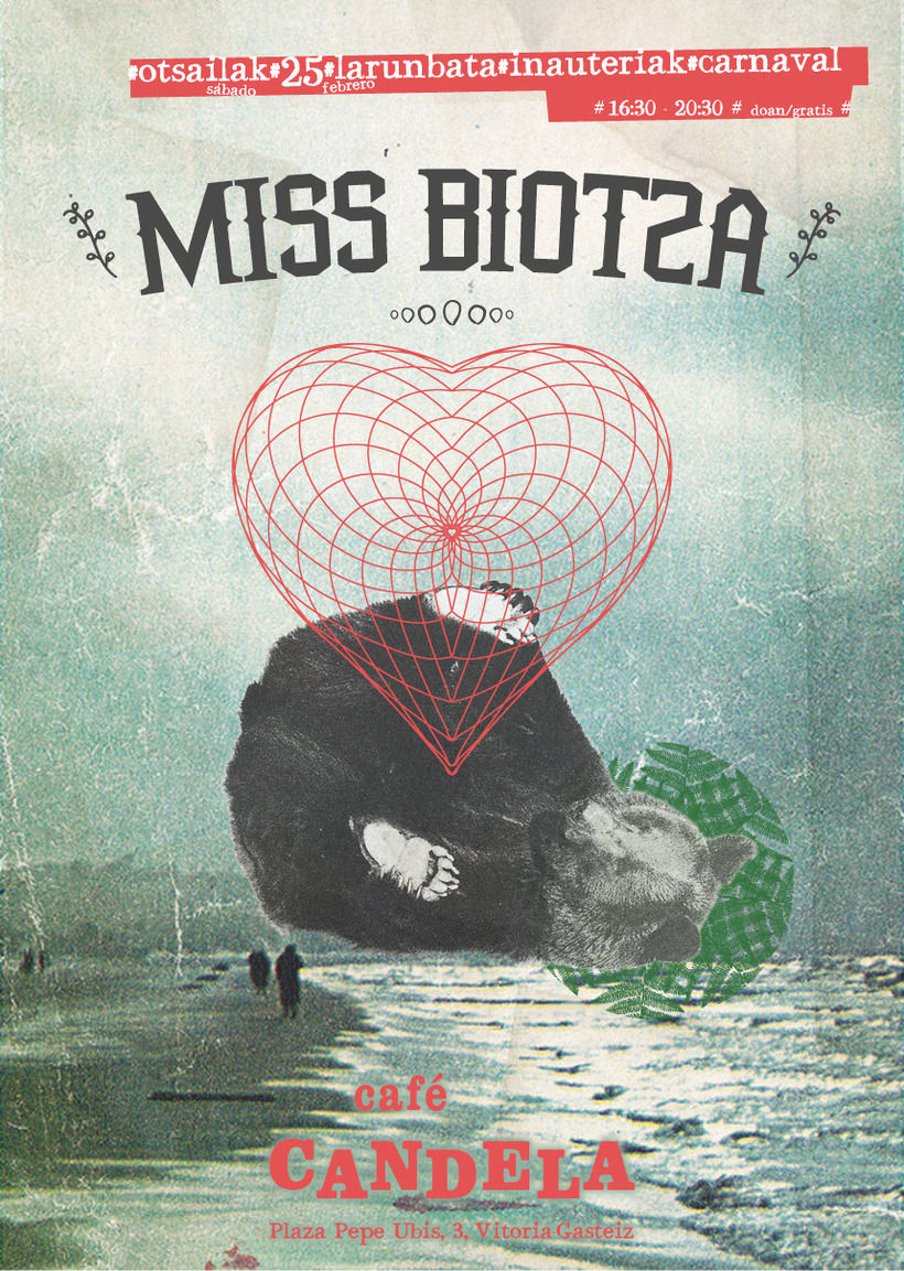 Cartel Miss Biotza -1