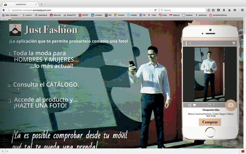 Diseño de una app promocionar per una web. 0