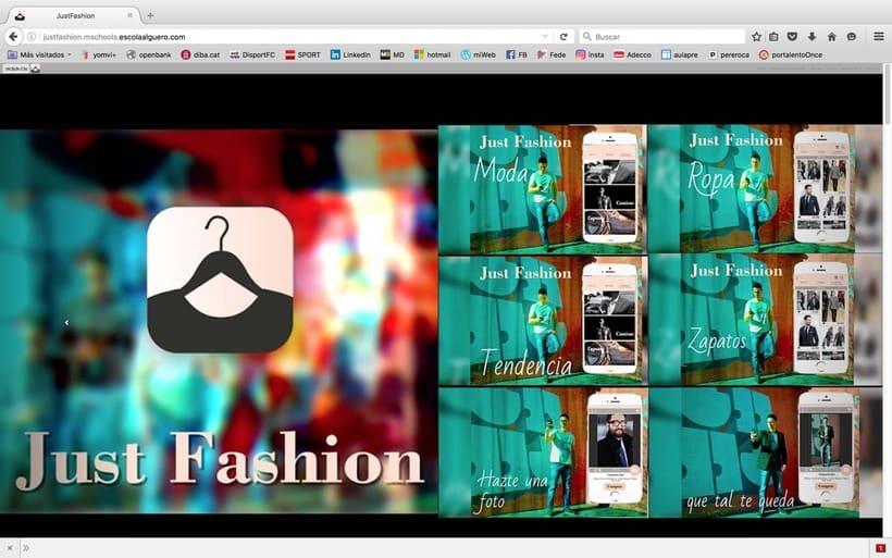 Diseño de una app promocionar per una web. 1