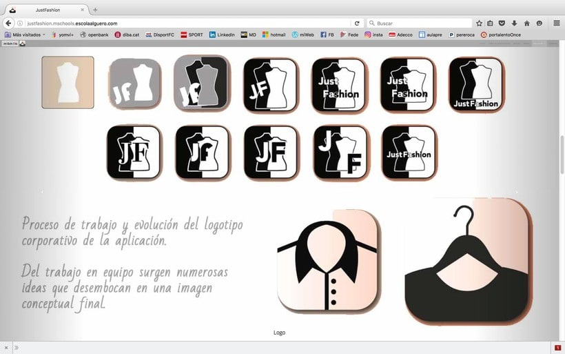 Diseño de una app promocionar per una web. 3