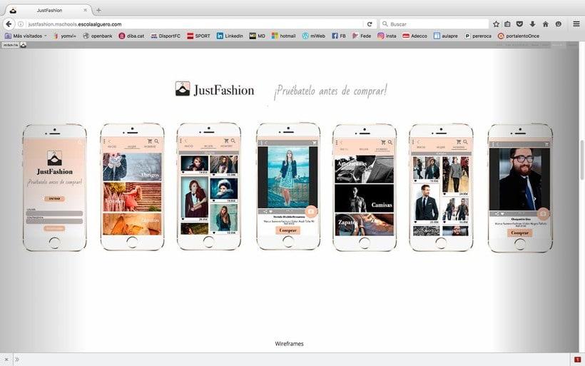 Diseño de una app promocionar per una web. 4