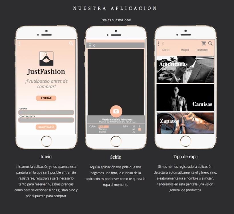 Diseño de una app promocionar per una web. 7