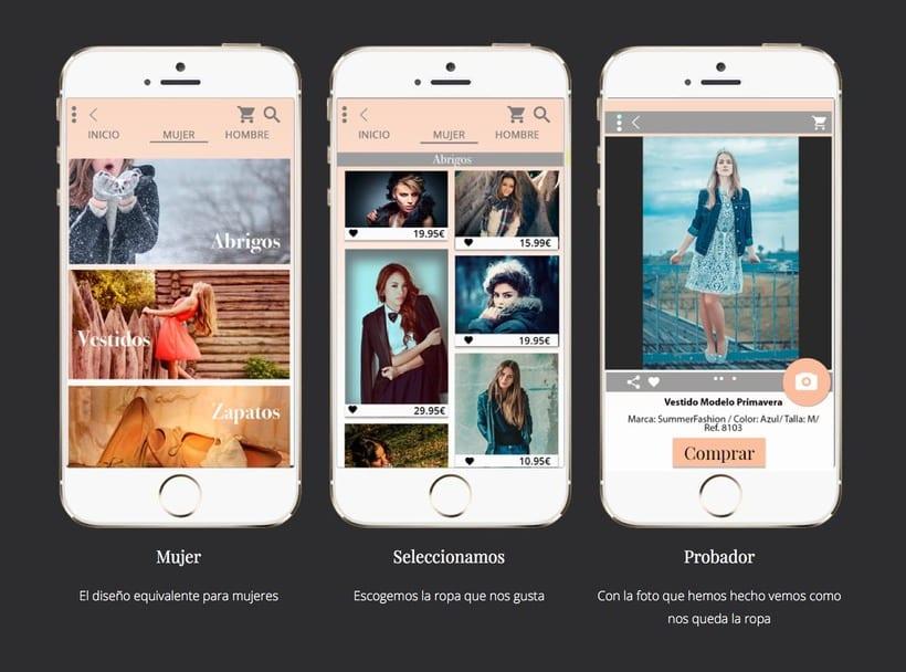 Diseño de una app promocionar per una web. 8