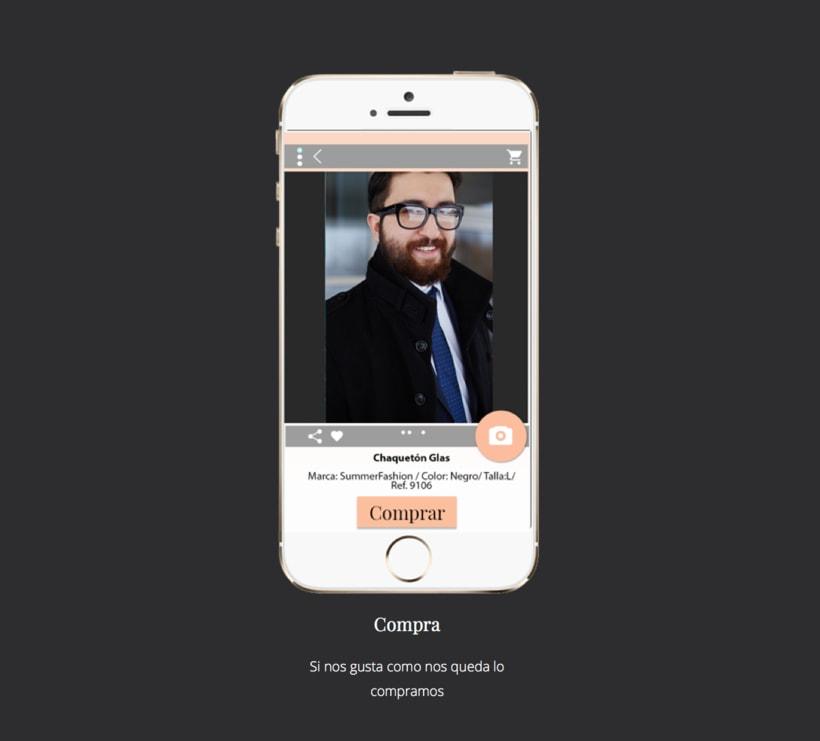 Diseño de una app promocionar per una web. 9