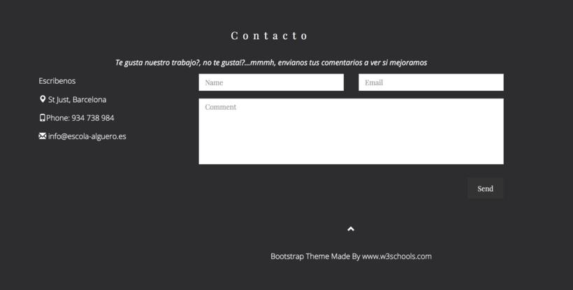 Diseño de una app promocionar per una web. 10
