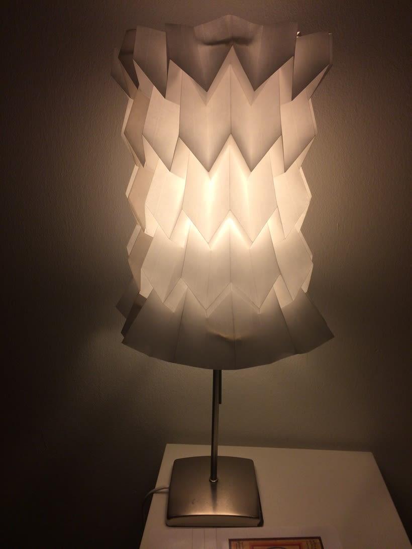 Lámparas de origami. -1