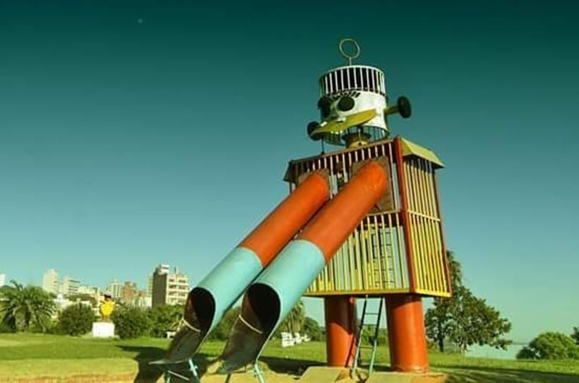 Robot Tobogán & Patito Sirirí 1