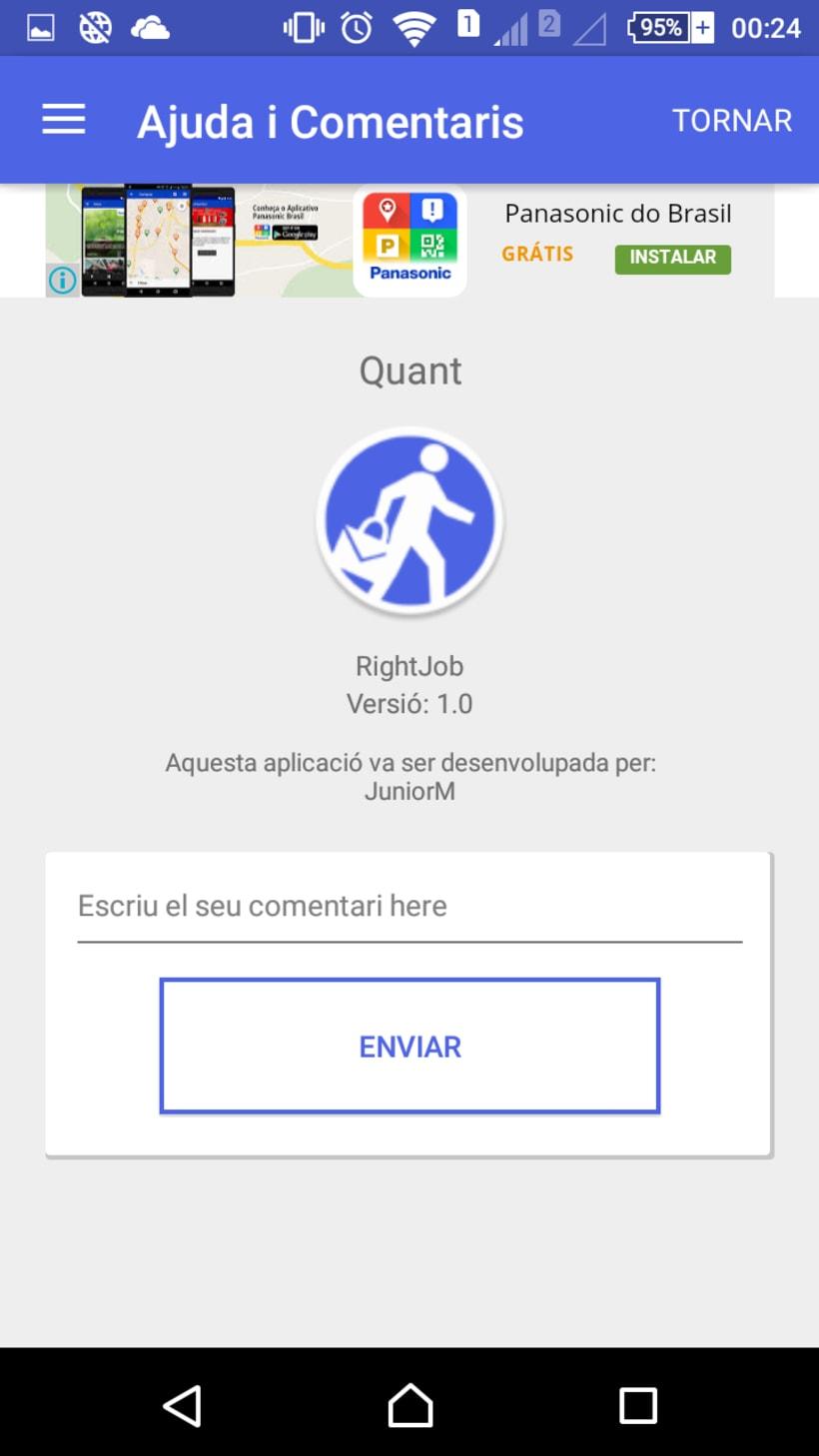 RightJob, Android APP 0