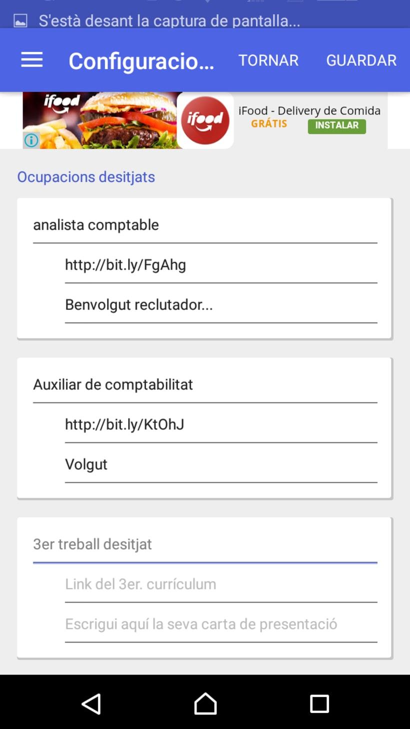 RightJob, Android APP 2