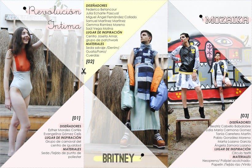 """"""" COSIENDO TETUÁN """" proyecto en equipo  de diseño de moda, con el look """" BRITNEY """", sobre el textil y el distrito madrileño de Tetuán, junto con MEDIALAB-PRADO https://opentextil.hotglue.me/?Cosiendo+Tetuan -1"""