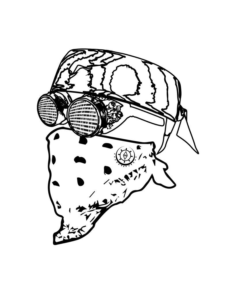 Diseño Máscara CyberPunk 0