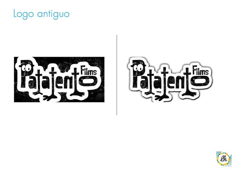 Identidad corporativa para Patatento Films 1