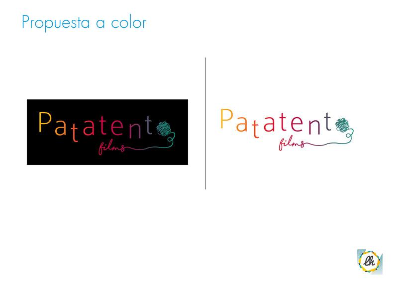 Identidad corporativa para Patatento Films 4