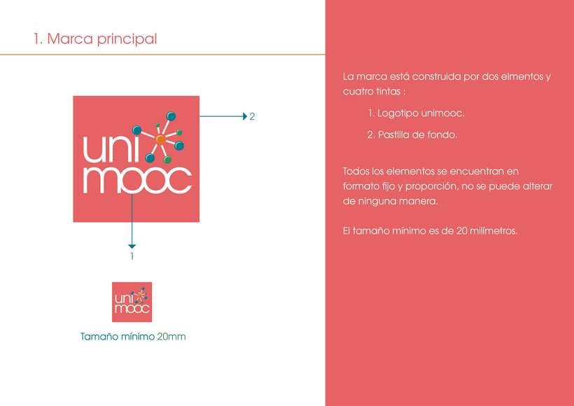 Manual corporativo UniMOOC  2