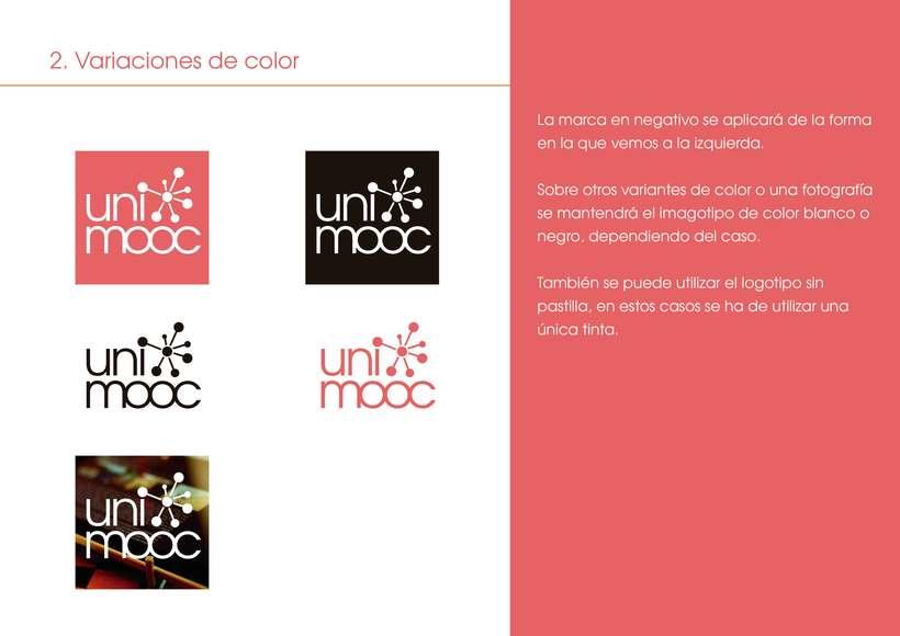 Manual corporativo UniMOOC  3