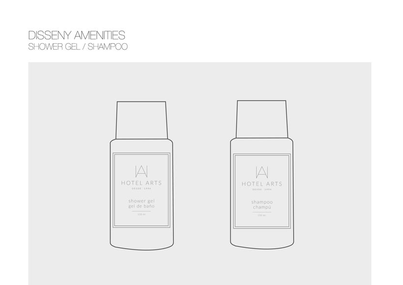 PACKAGING / AMENITIES HOTEL ARTS 8