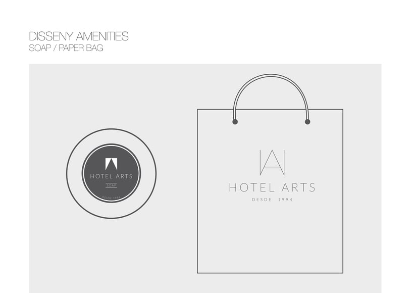 PACKAGING / AMENITIES HOTEL ARTS 9