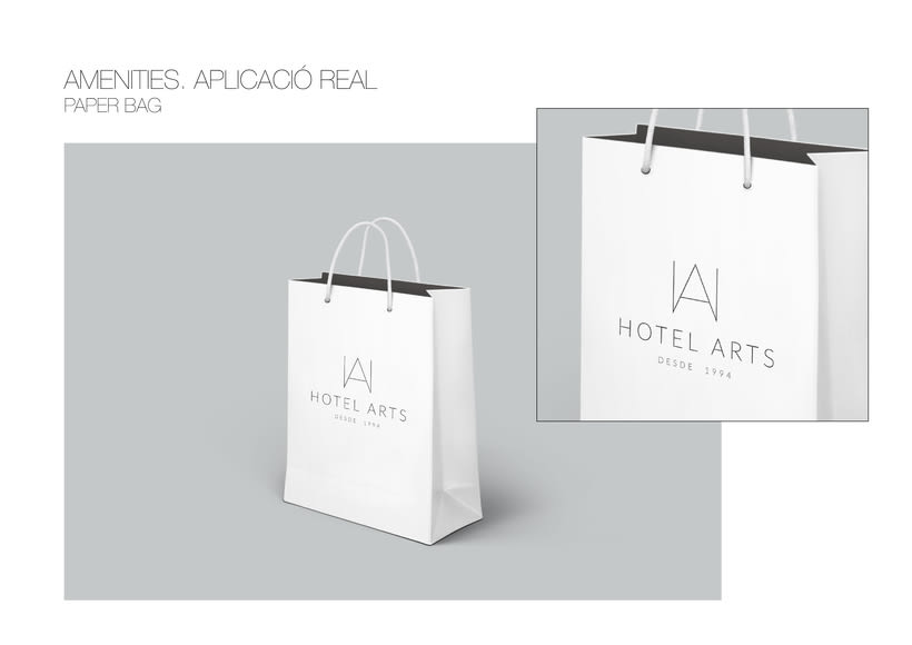 PACKAGING / AMENITIES HOTEL ARTS 14