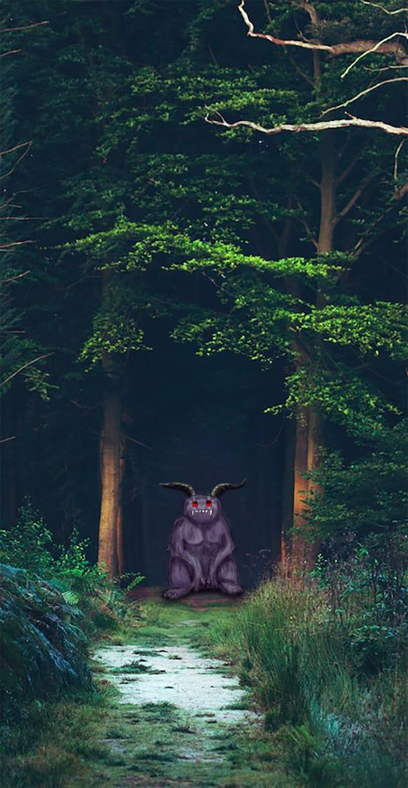Bienvenido al bosque -1