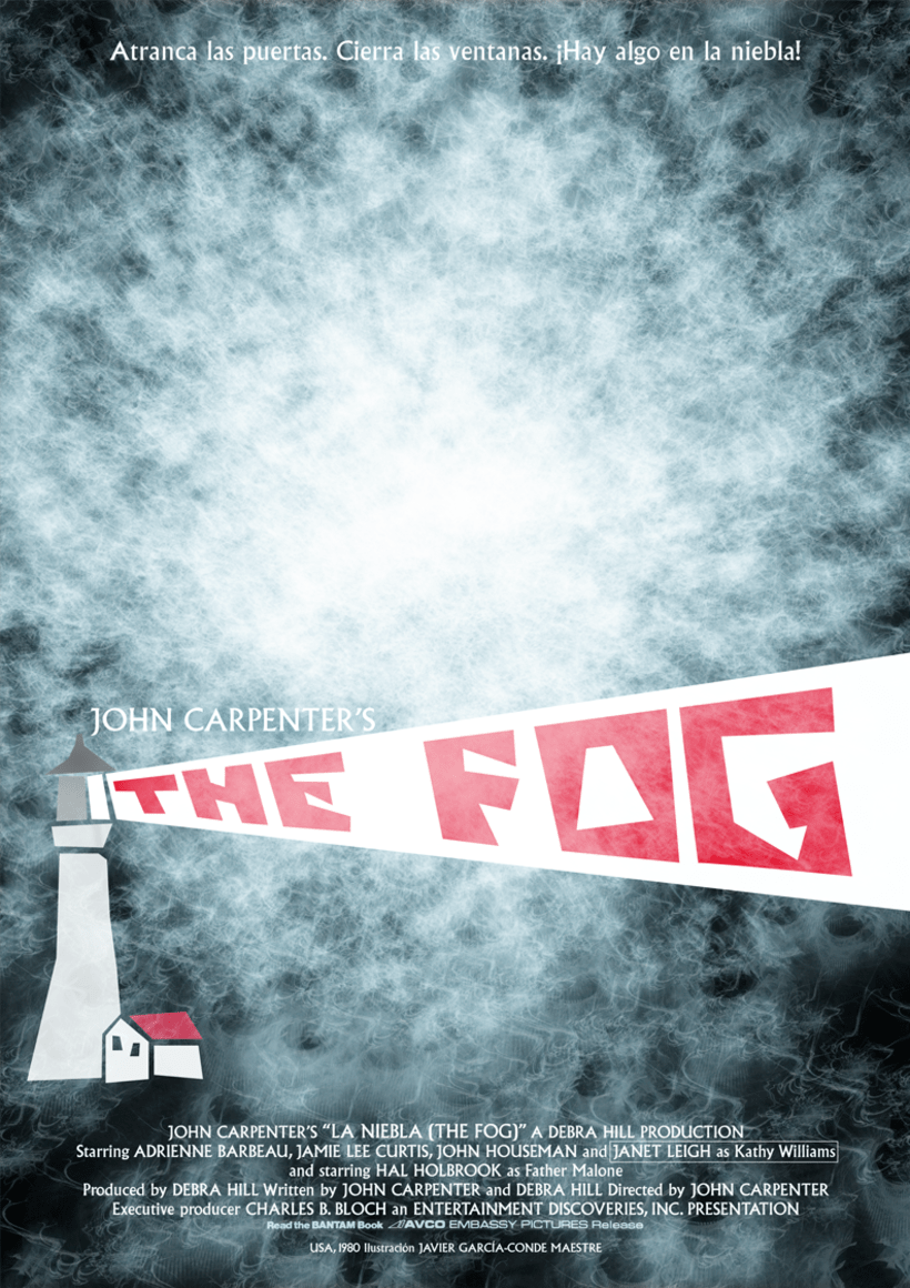 Cartel La niebla (The Fog, 1980) 1
