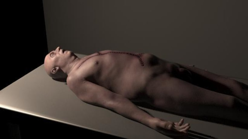 Autopsia modelado en Zbrush 0