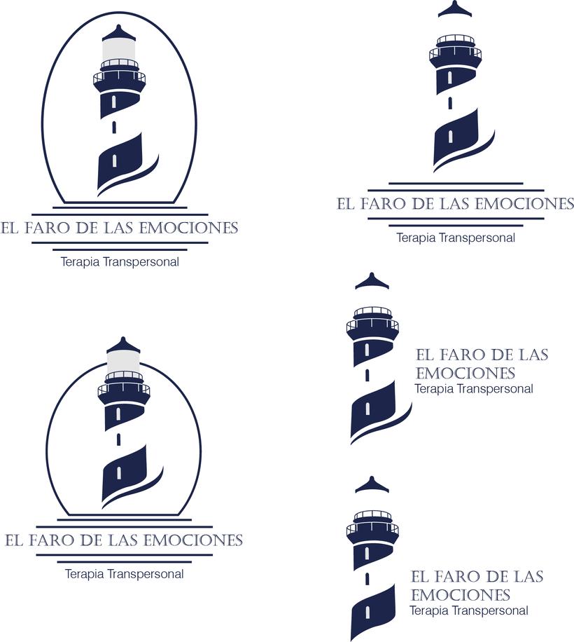 Logotipo El Faro de las Emociones (Terapia Transpersonal) -1