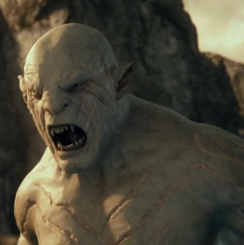 The Hobbit movies, Azog. 0