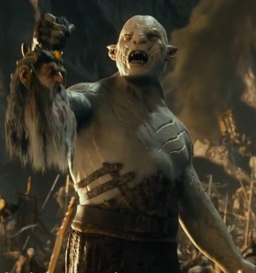 The Hobbit movies, Azog. 1