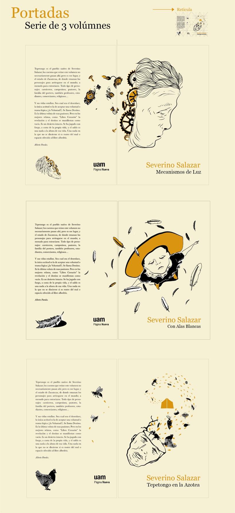 """""""Severino Salazar"""" Colección Ilustrada.  1"""