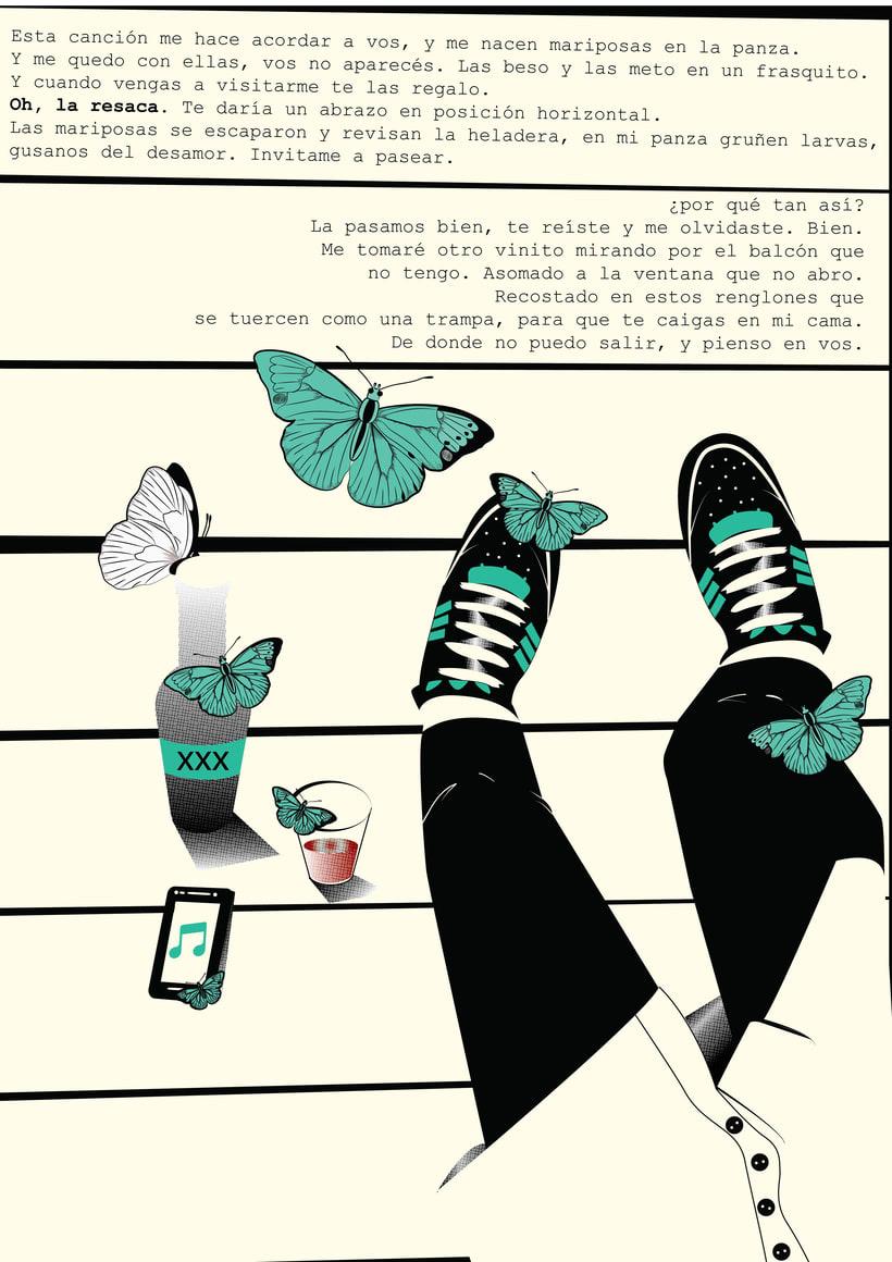 Ilustración de cuentos de André Demichelis 0