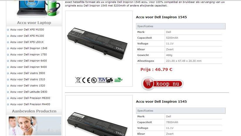 Achetez nouvelle Batterie Pour ASUS A32-N56 0