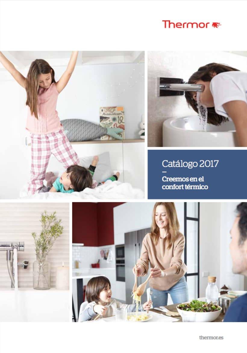 Thermor. Fotografía de publicidad para el catálogo del 2017 de la marca Thermor. 16