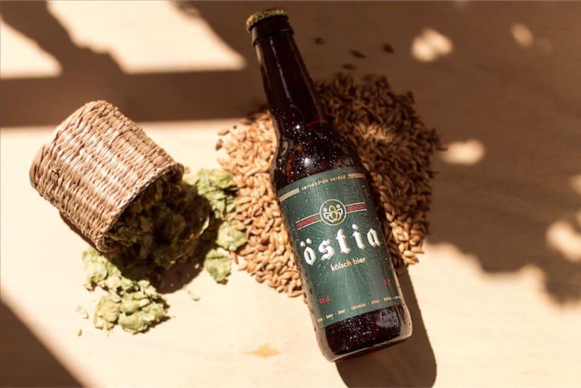 Diseño y comunicación para Östia Beer 0