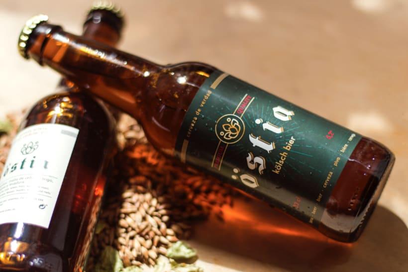 Diseño y comunicación para Östia Beer 5