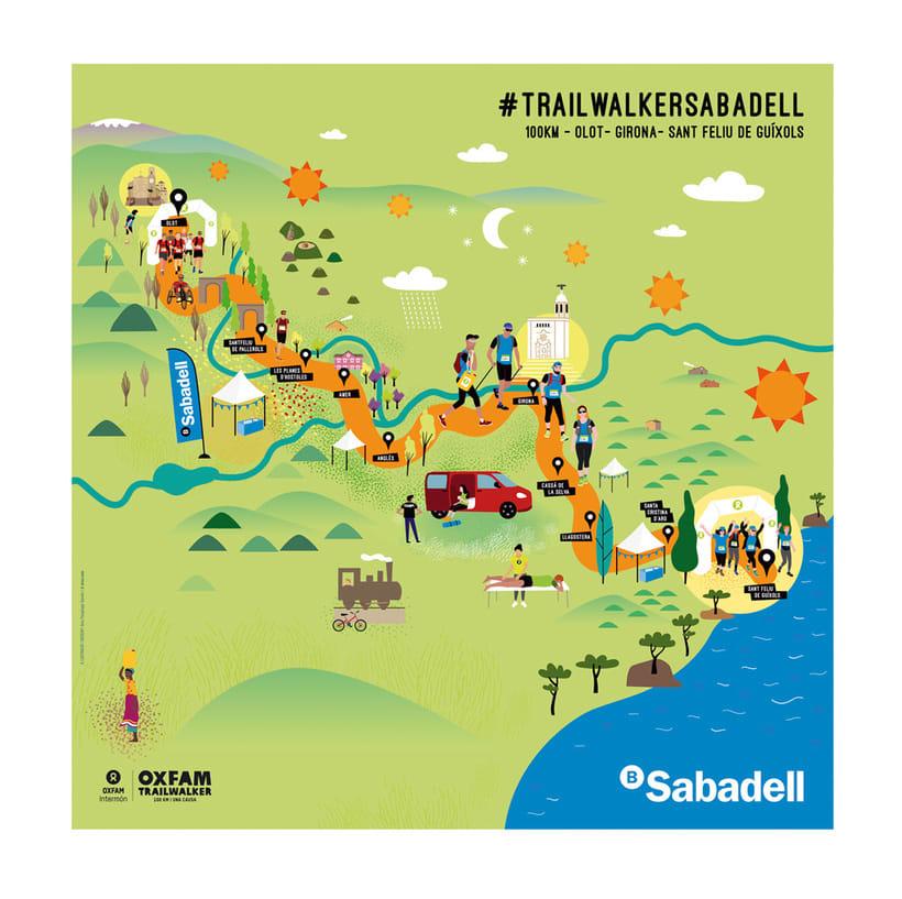 Oxfam Trailwalker Girona 0