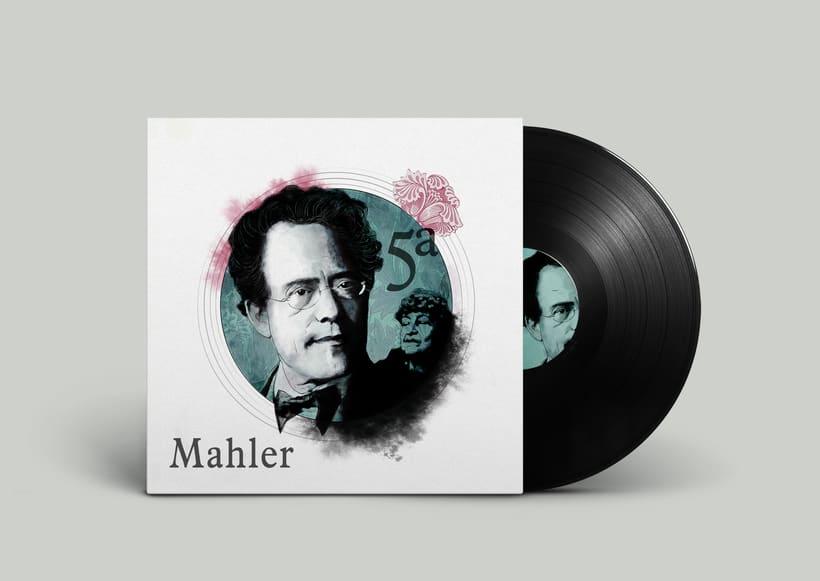 Retratos para clásica. Mahler 1