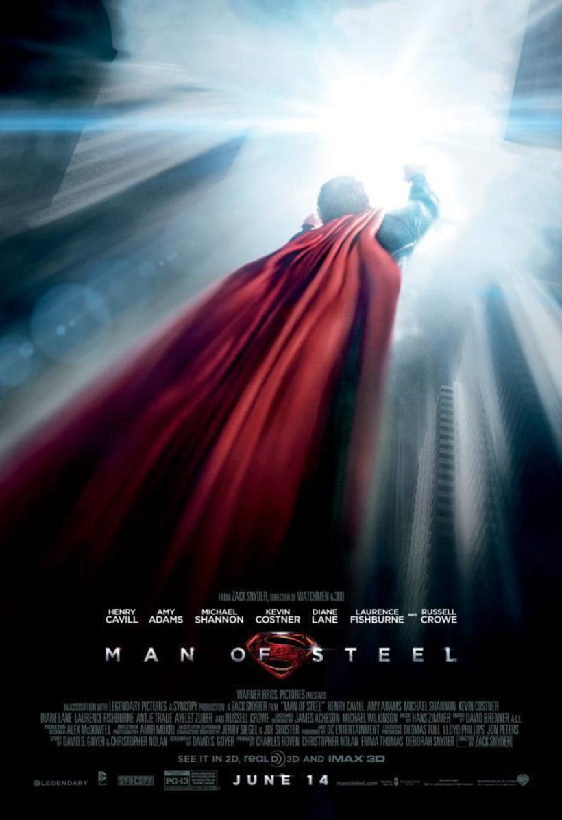 Man Of Steel. 2