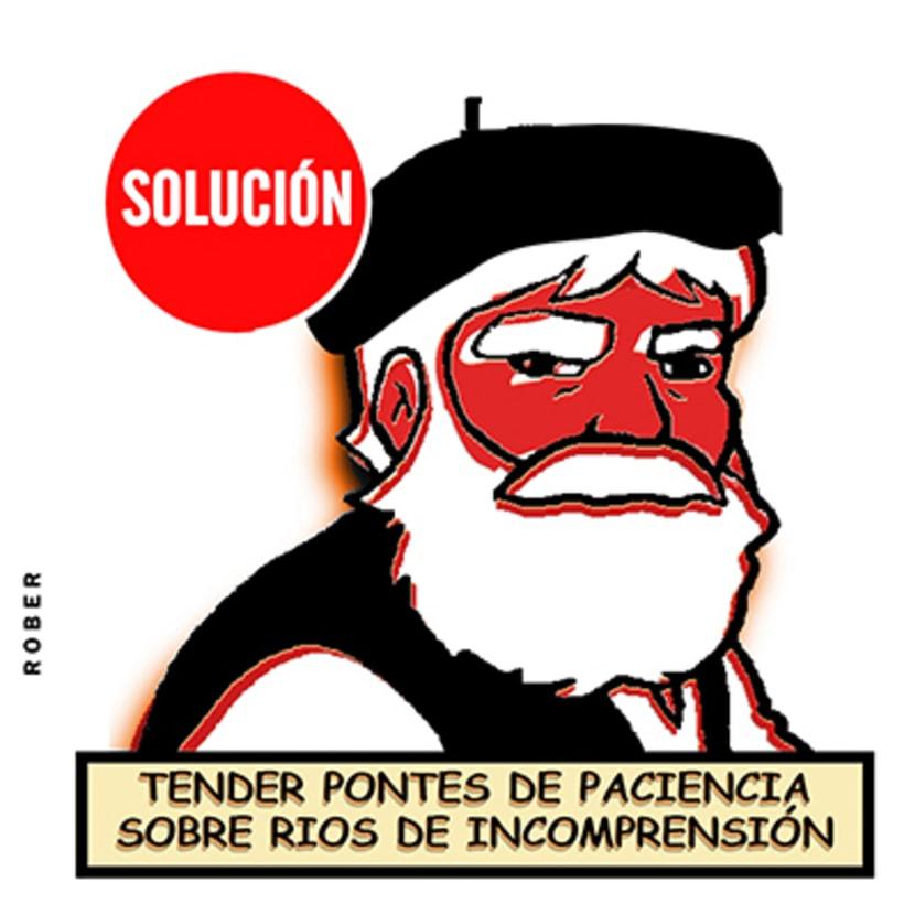 Ilustraciones de artículos de prensa para La Voz de Galicia. 26