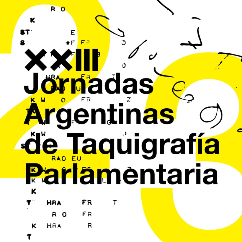 XXIII Jornadas Argenginas de Taquigrafía Parlamentaria 1