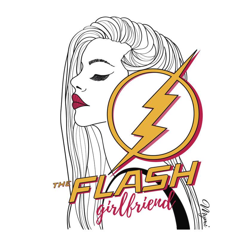 Flash girlfriend! 0