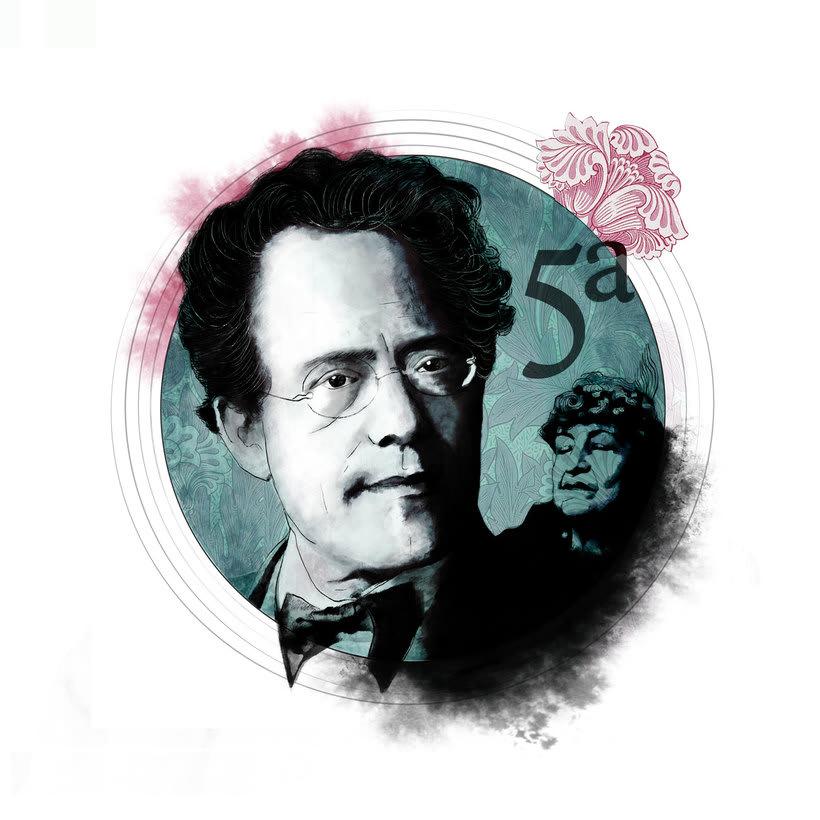 Retratos para clásica. Mahler 0
