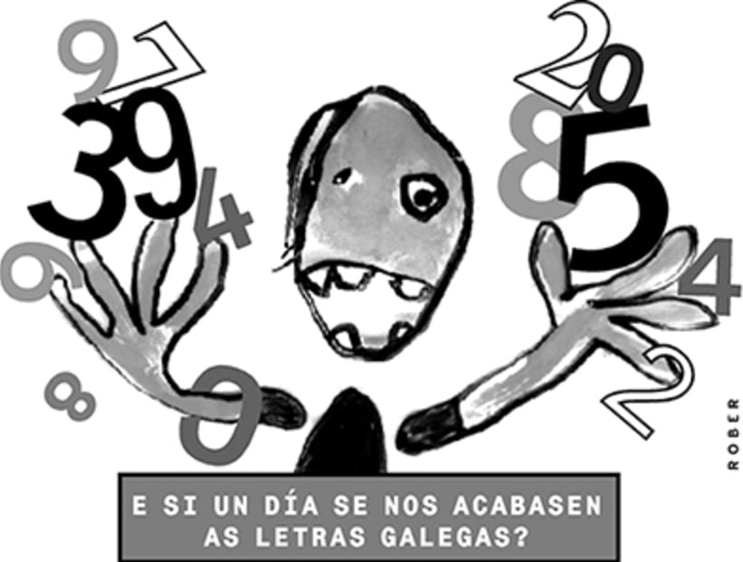 Ilustraciones de artículos de prensa para La Voz de Galicia. 33