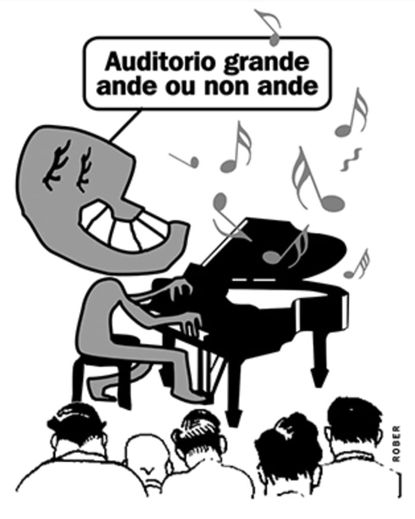 Ilustraciones de artículos de prensa para La Voz de Galicia. 35