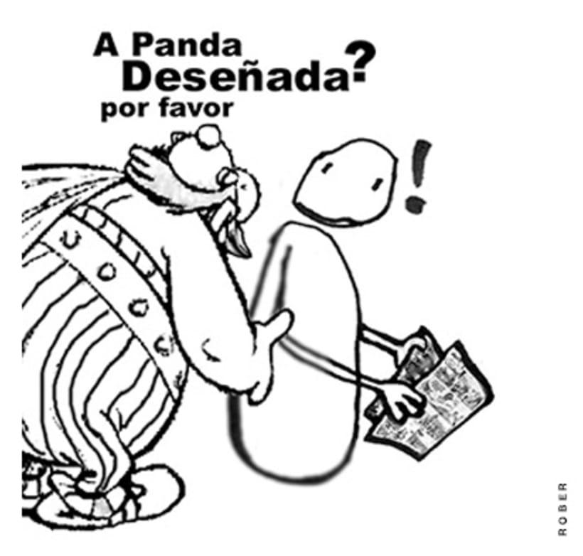 Ilustraciones de artículos de prensa para La Voz de Galicia. 29