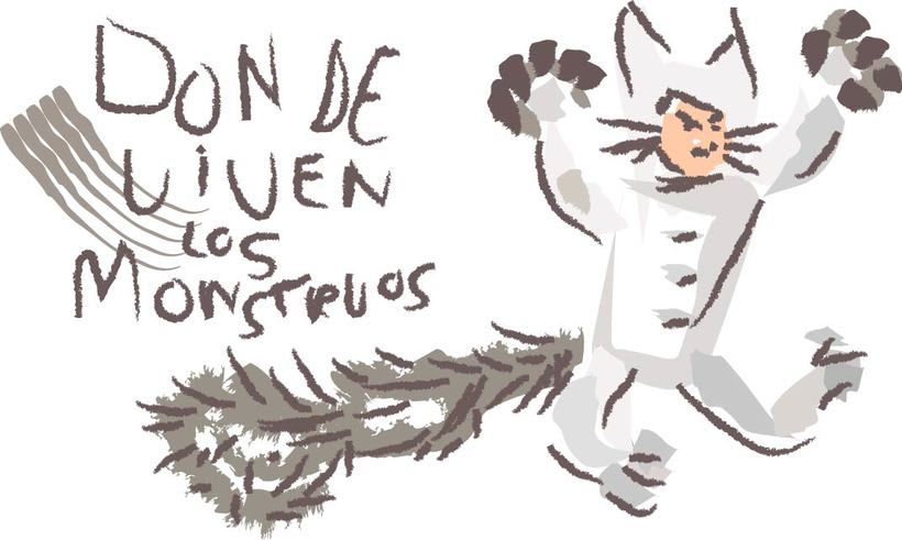 WHERE THE WILD THINGS ARE, ilustraciones del cuento de Maurice Sendak -1