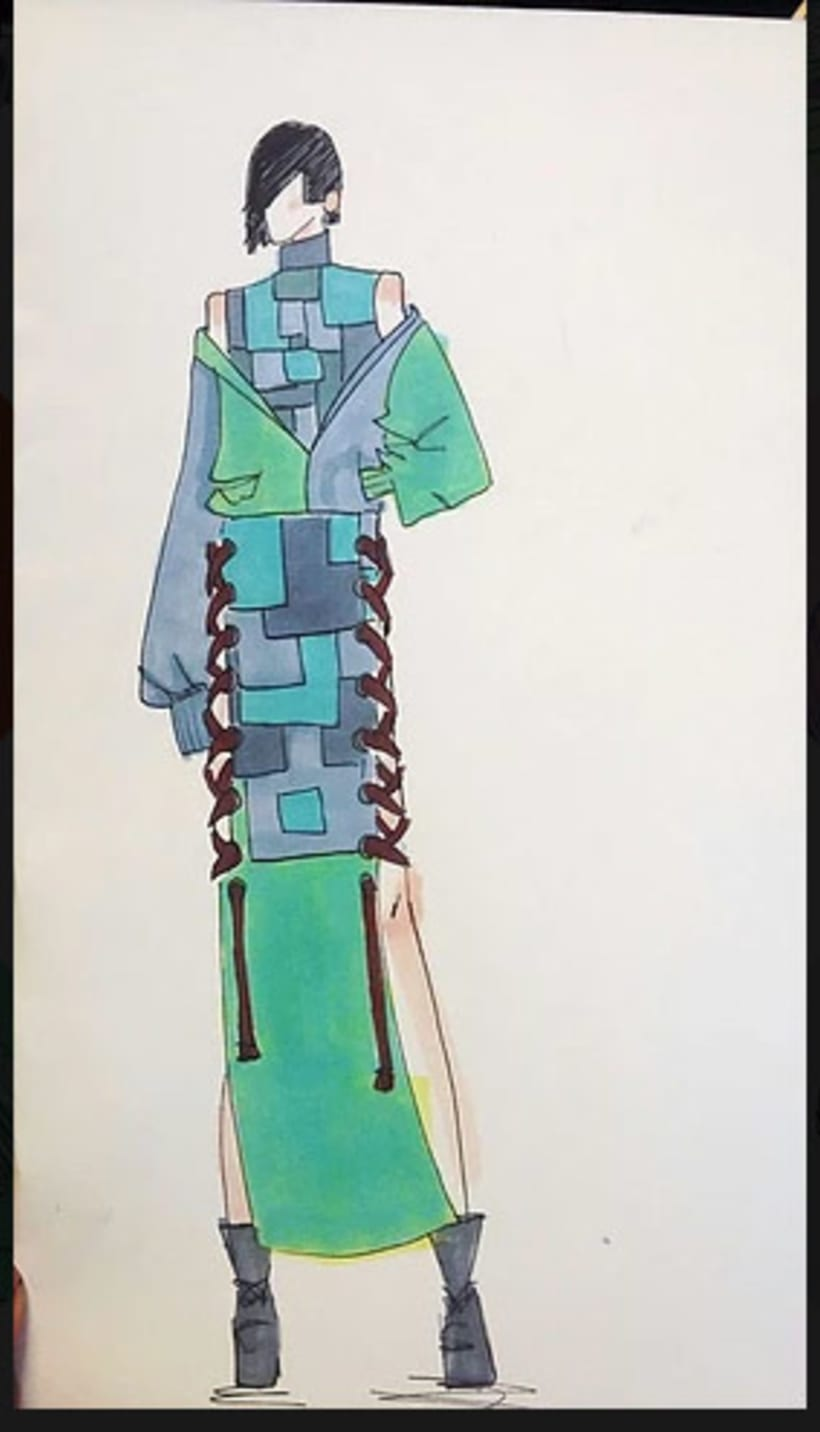 """"""" COSIENDO TETUÁN """" proyecto en equipo  de diseño de moda, con el look """" BRITNEY """", sobre el textil y el distrito madrileño de Tetuán, junto con MEDIALAB-PRADO https://opentextil.hotglue.me/?Cosiendo+Tetuan 0"""