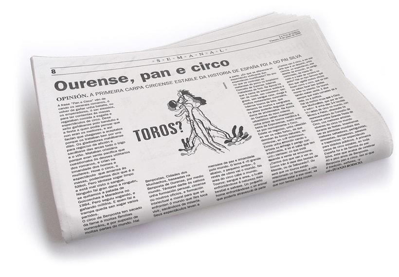 Ilustraciones de artículos de prensa para La Voz de Galicia. 0
